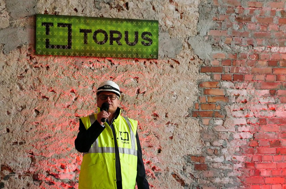 Andrzej Palczak, kierownik projektu w firmie Torus