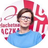 Dominika Langer-Gniłka, Dyrektor Działu Współpracy i Rozwoju w Stowarzyszeniu WIOSNA
