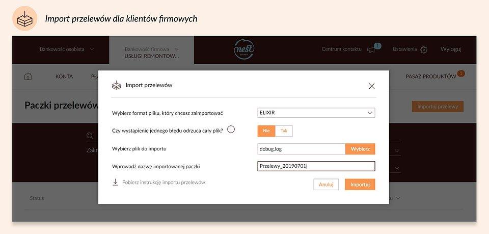 import przelewów dla klientów firmowych.jpg