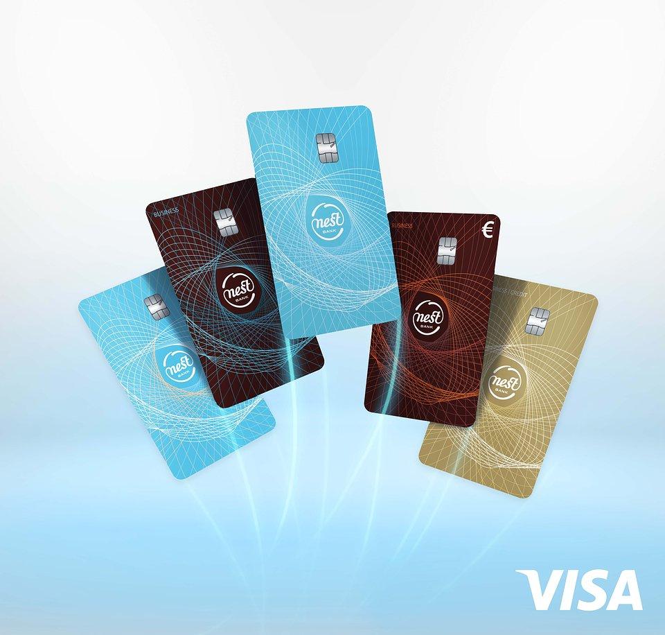 Nowe karty płatnicze Nest Banku