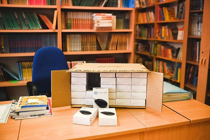Sprzęt komputerowy dla dzieci w e-szkołach. Fot. P. Połoczański