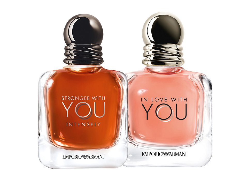 IN LOVE WITH YOU, damska woda perfumowana, 50 ml + STRONGER WITH YOU INTENSELY, męska woda perfumowana, 50 ml