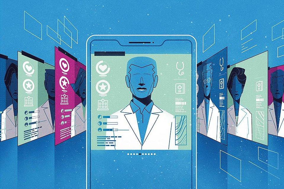 Com as consultas via internet, a tendência de dar nota para o atendimento se amplia. Isso pode mudar de forma radical a relação médico-paciente. Denis Freitas/Superinteressante