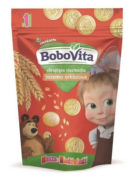 BoboVita chrupiące ciasteczka pszenno-orkiszowe dla dziecka po 1. roku życia