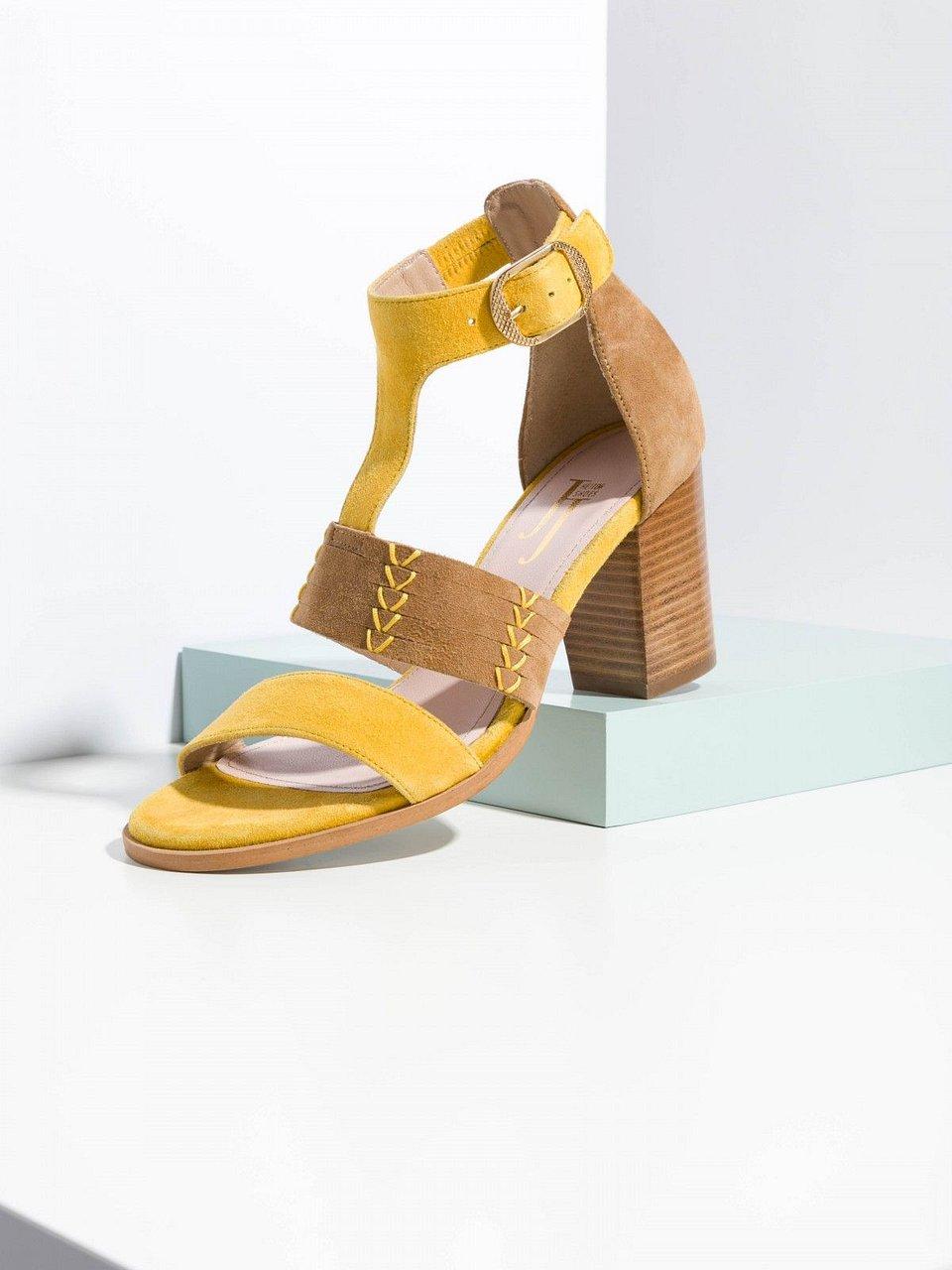2e50ad721 Sandálias amarelas com fivela | JJHeitor | 140,00€ - Umas versáteis  sandálias com fivela amarelas para mulher , criadas pela JJHeitor. O amarelo  simboliza a ...