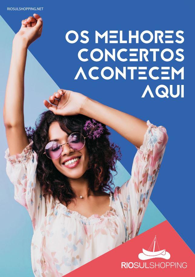 RioSul Shopping - Concertos maio