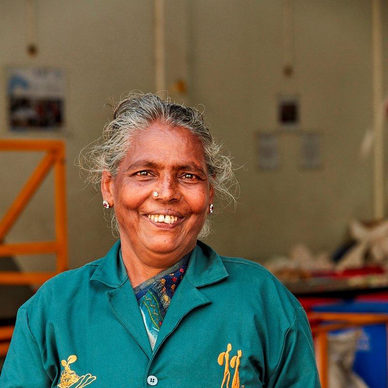 Lakshamma - Waste Picker at Dry Waste Collection Centre.jpg