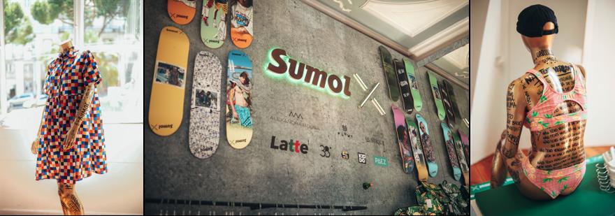 Pop Up Store Sumol