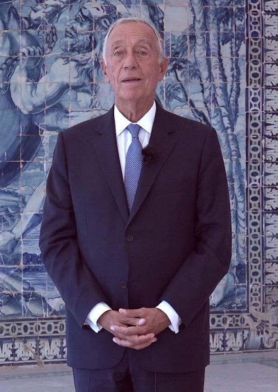 Video do Sua  Excelência, o Presidente da República Marcelo Rebelo de Sousa