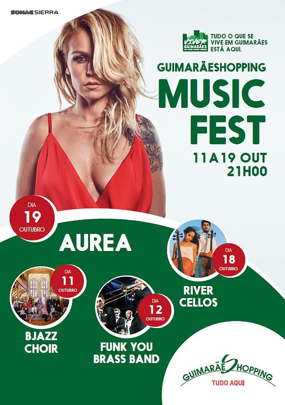 GuimarãeShopping Music Fest de 11 a 19 de outubro