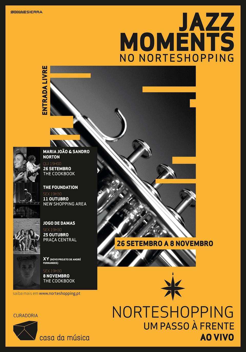 Jazz Moments no NorteShopping com participação de Maria João como embaixadora