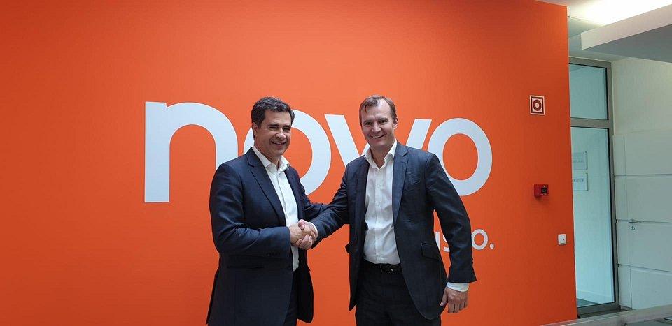 Miguel Venâncio, Presidente do Conselho de Administração da NOWO/ Oni e Meinrad Spenger, CEO do Grupo MASMOVIL