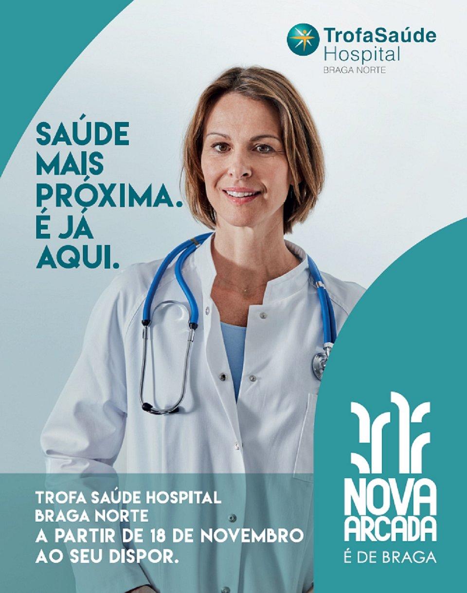 A alternativa de unidade de saúde completa para os habitantes de Braga e zona envolvente, aberto a partir do dia 18 de novembro.