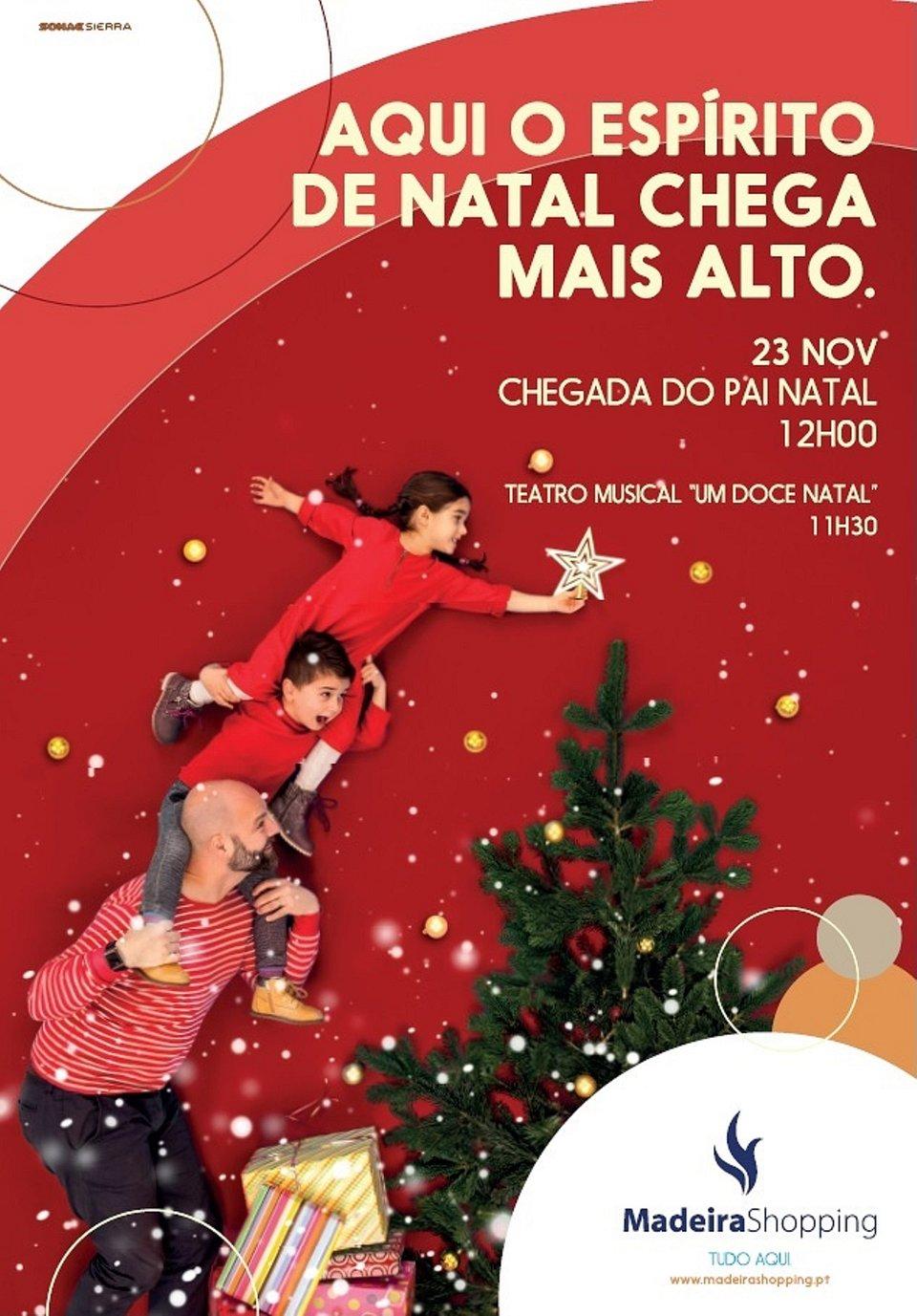 De 23 de novembro a 23 de dezembro o MadeiraShopping tem a melhor programação de natal