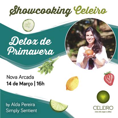 """Showcooking Celeiro: Detox Primavera"""