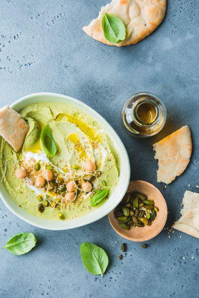 Hummus de grão