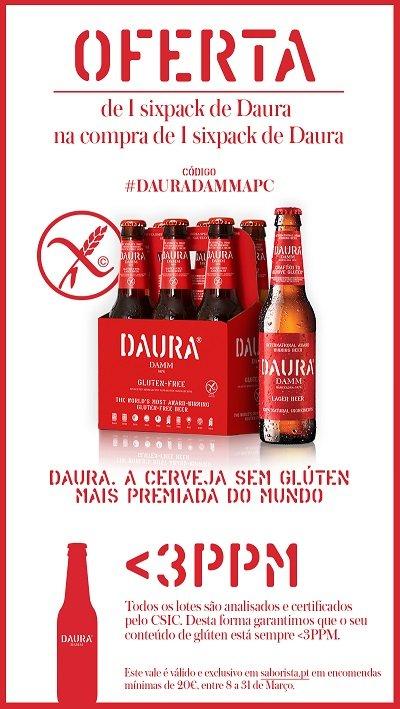 *O vale é válido e exclusivo em saborista.pt em encomendas mínimas de 20€, entre 8 e 31 de março.