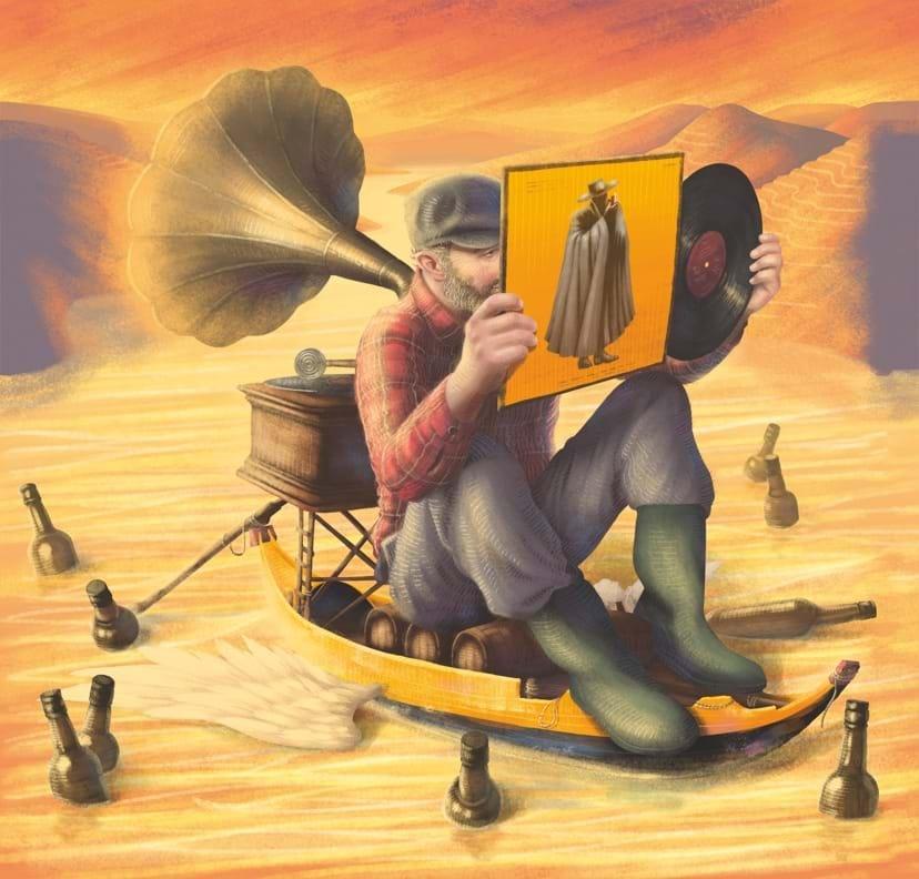 Representação visual de Sandeman de Mário Belém