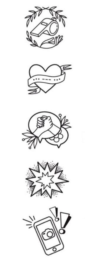 5 tatuagens criadas pela tatuadora Mariza Seita