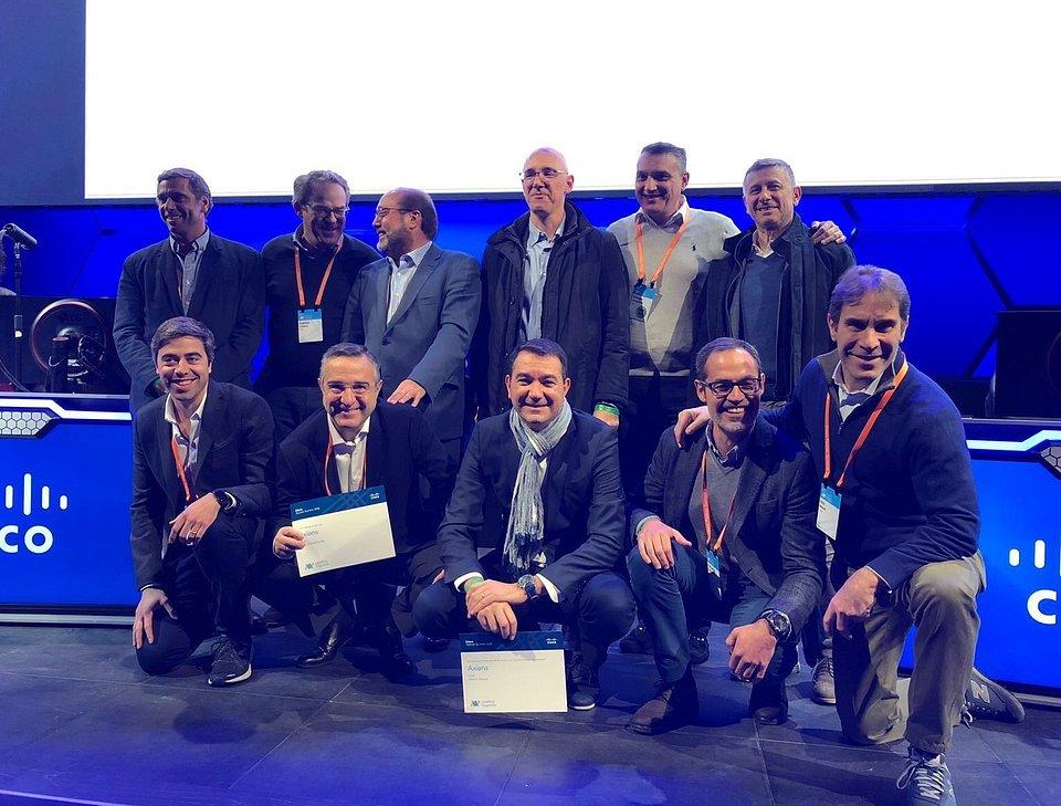 Equipa Axians na Cisco Partner Summit 2018