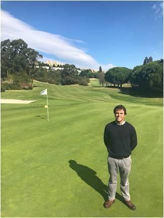 Tiago Piano, novo greenkeeper do Belas Clube de Campo