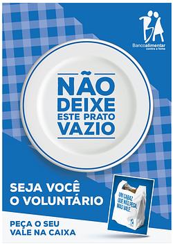 Banco Alimentar apela à solidariedade para 'ajudar a preencher o vazio' que existe na mesa dos portugueses