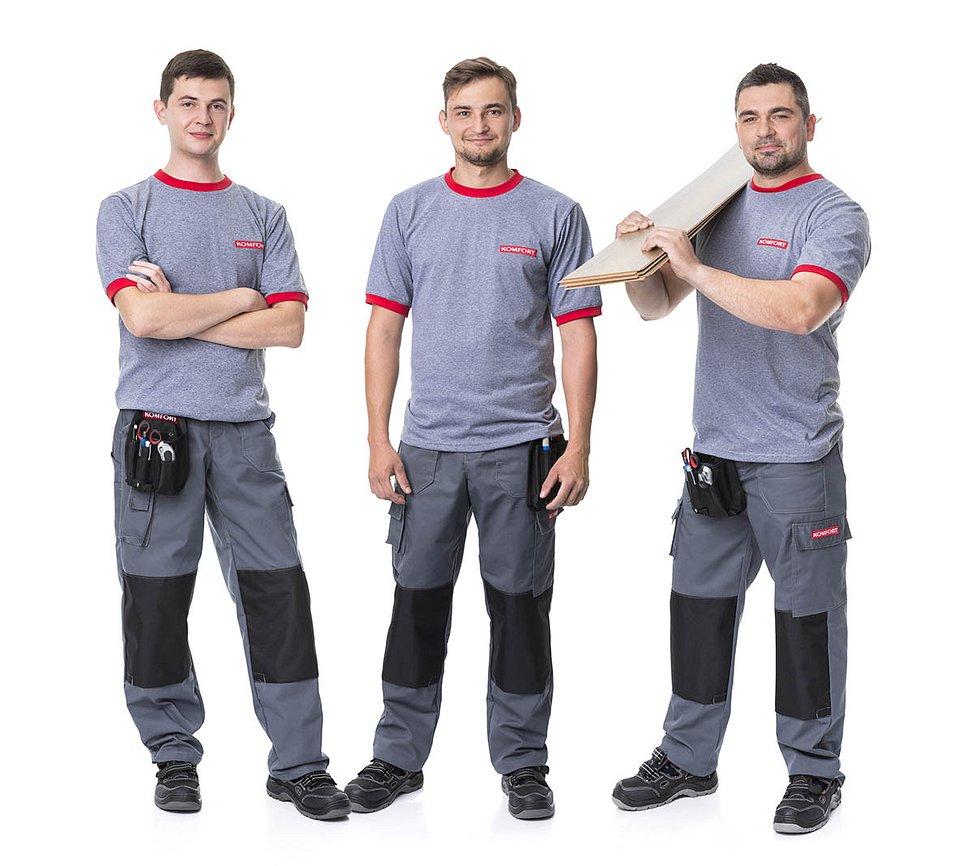 W KOMFORT zapewniamy usługi od profesjonalnego doradztwa po transport i montaż podłogi.