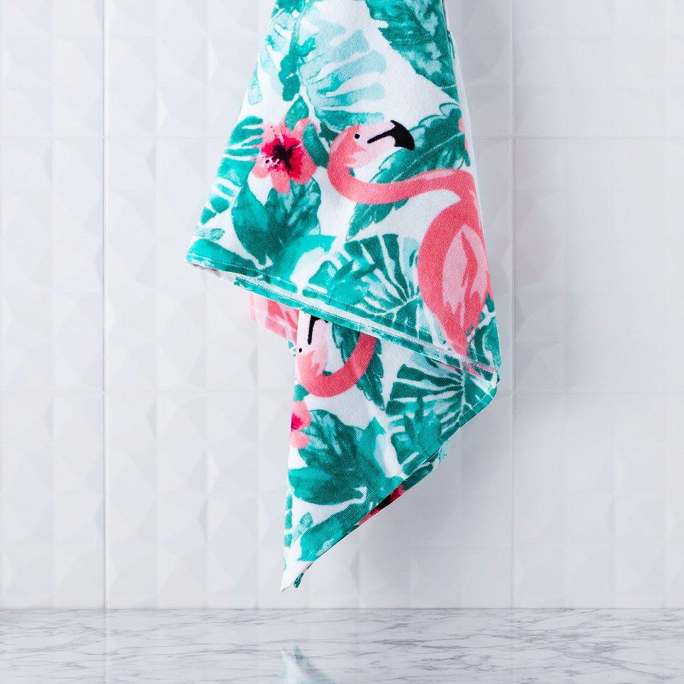 Ręcznik plażowy Aruba (home&you) - 79 zł; 100% bawełny; wym.: 70 x 130 cm; gramatura: 430 g/m2 - lekki i łatwy w przenoszeniu
