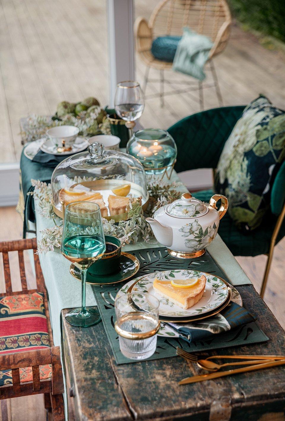 Kolekcja Gold Orchid - home&you (zastawa stołowa)