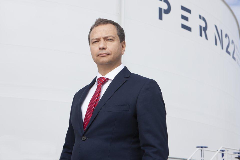 Rafał Miland, wiceprezes PERN