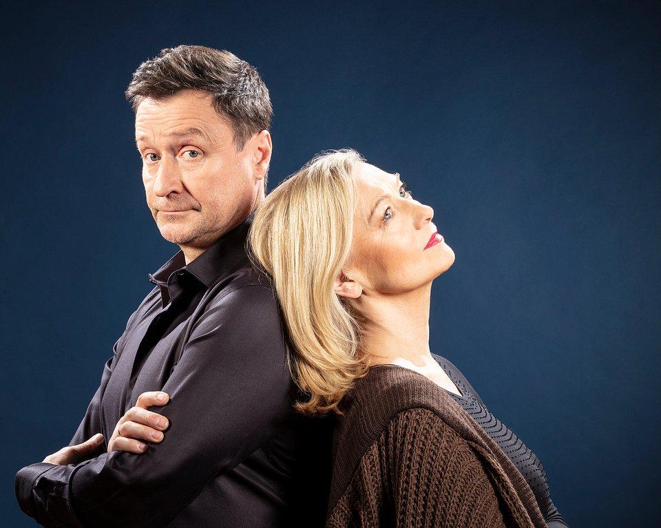 Jacek Kawalec i Halina Rowicka (fot. Rafał Latoszek)