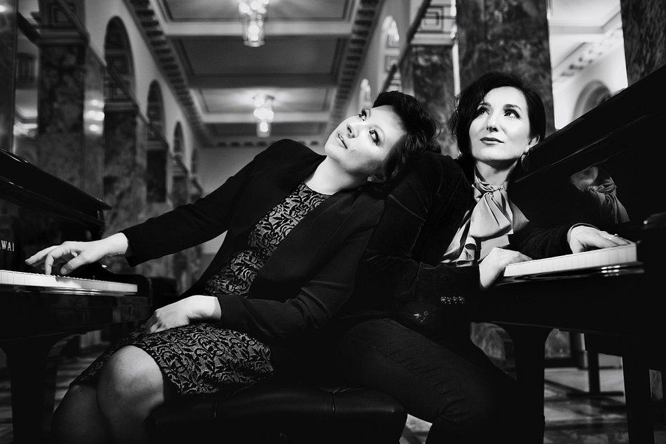 Ravel Piano Duo - Agnieszka Kozło i Katarzyna Sokołowska (fot. Kinga Karpati)