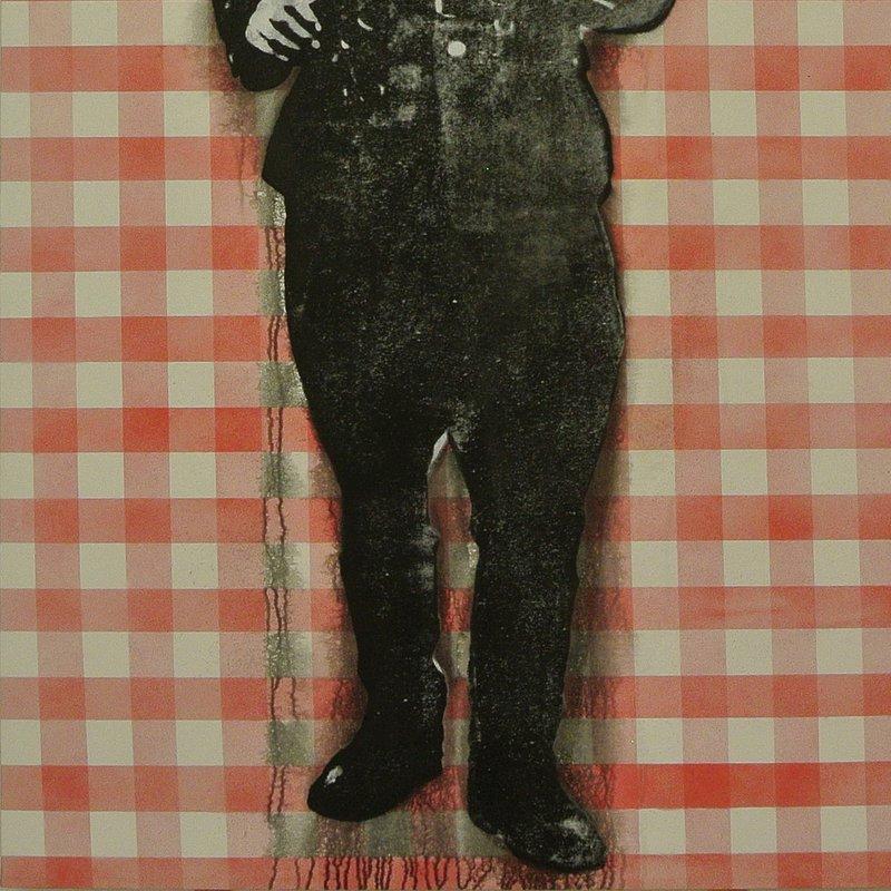 Żołnierz stołowy, tech.mieszana, 147 x 71cm, 2018.JPG