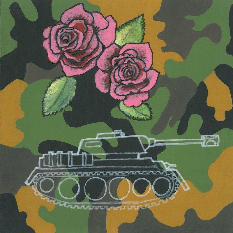 Maria Pi─ůtek_Guns and roses_30x30_2018.jpg