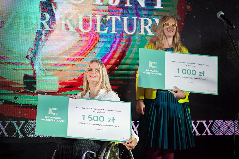 Wyróżnienia zdobyły Małgorzata Sobiesiak i Eliza Bujalska.