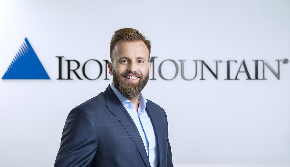 Marcin Mandryk, Sales Operations Executive CEE & Product Manager Iron Mountain Polska