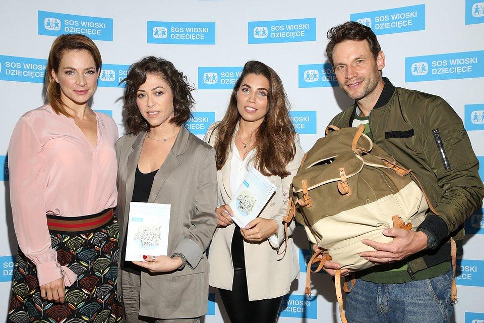Fot. Agencja WBF. Od lewej: Anna Dereszowska, Natalia Kukulska, Zeinab Hashmat, Tomasz Wolny.