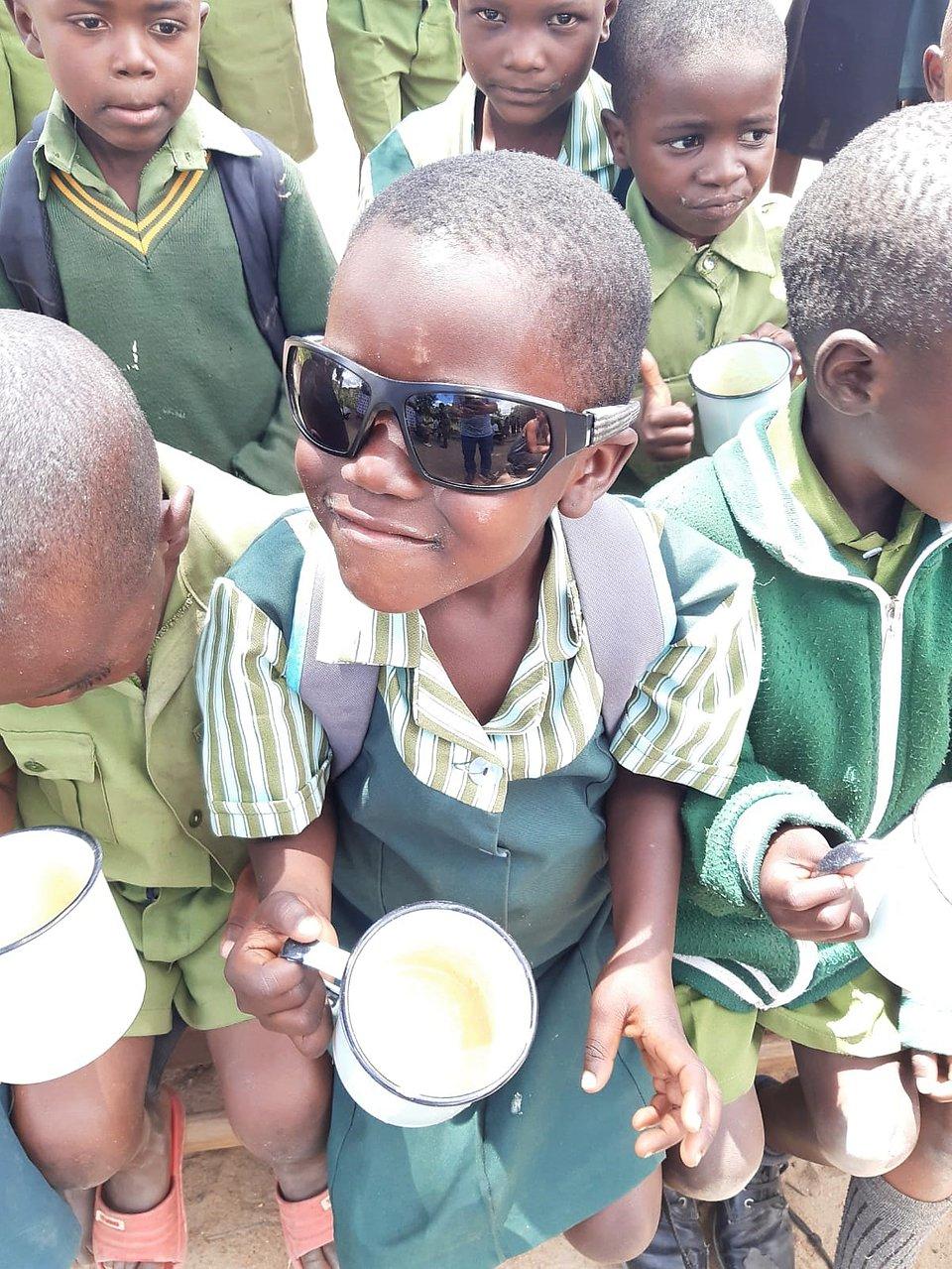 Podopieczni SOS Wiosek Dziecięcych w Zimbabwe