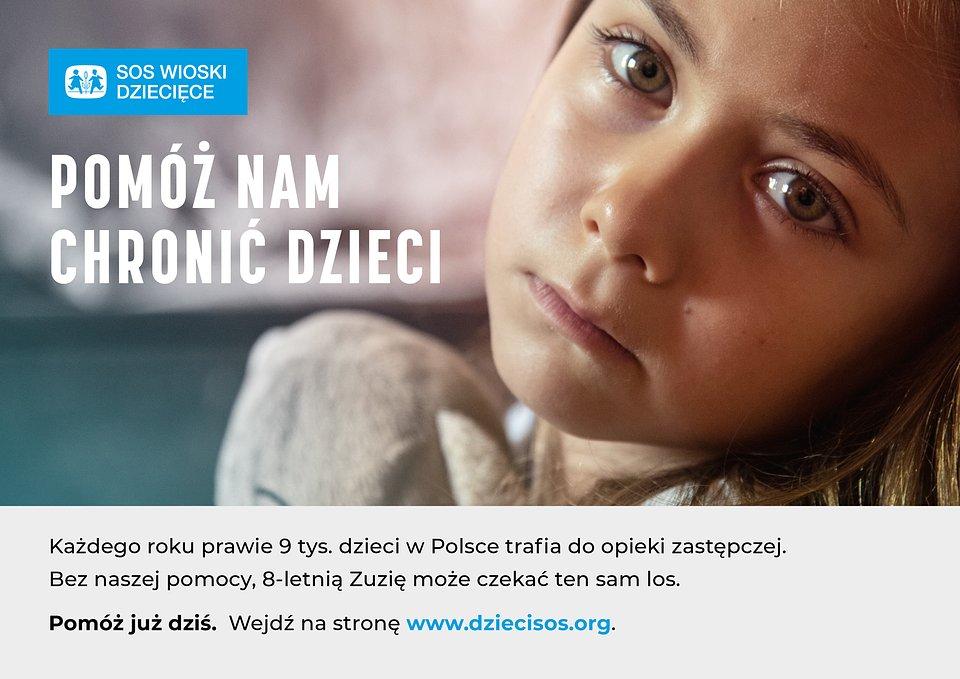Pomóż nam chronić dzieci.