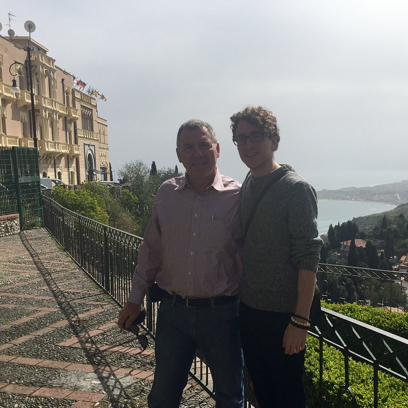 Dr. Spadafora and son in Italy.jpg