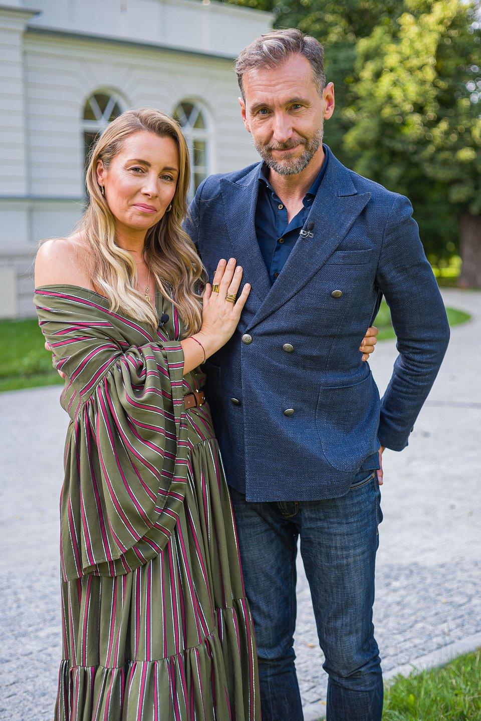 Karolina Ferenstein-Kraśko i Piotr Kraśko, fot.: TVN/ Tomasz Urbanek