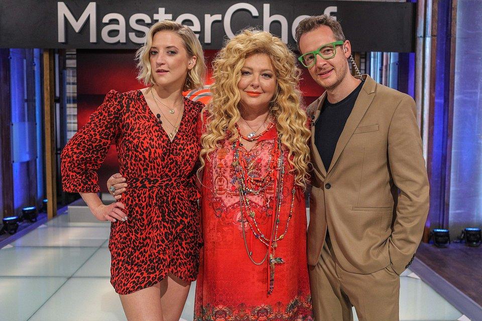 Lara Gessler, Magda Gessler i Tadeusz Müller (fot. TVN/Newspix Michał Stawowiak)