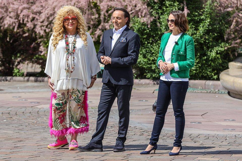 Magda Gessler, Michel Moran i Anna Starmach (fot. TVN/Newspix)