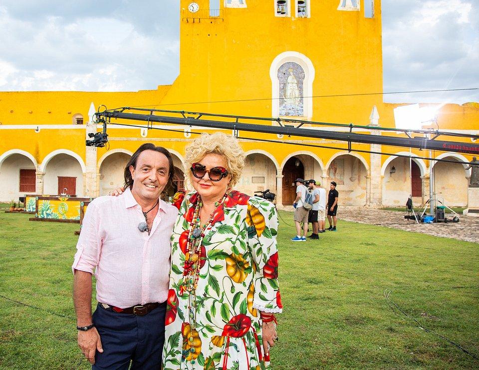 Michel Moran i Magda Gessler (fot. TVN/Natalia Mroz)