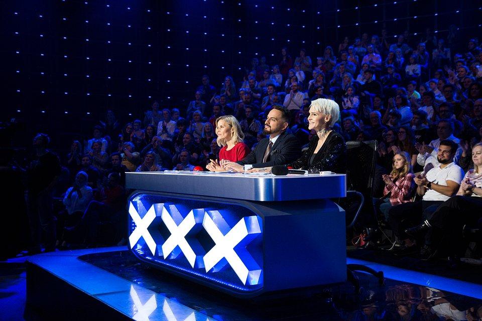 Małgorzata Foremniak, Agustin Egurrola i Agnieszka Chylińska (fot. TVN/Mirosław Sosnowski)