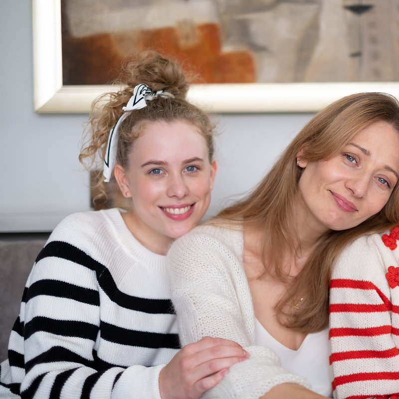 Agnieszka, Zuza i Zosia.JPG