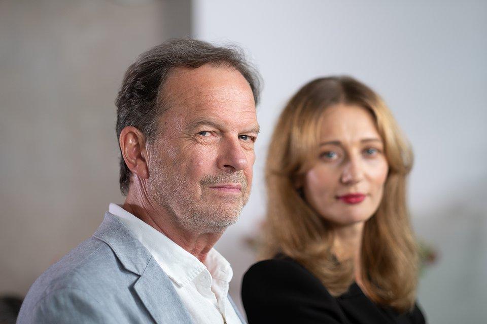 Roman Frankl i Magdalena Popławska; fot. TVN/Piotr Litwic