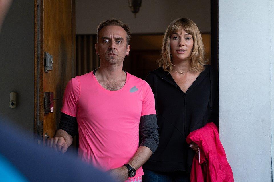 Wojciech Mecwaldowski i Sonia Bohosiewicz; fot. TVN/Piotr Litwic