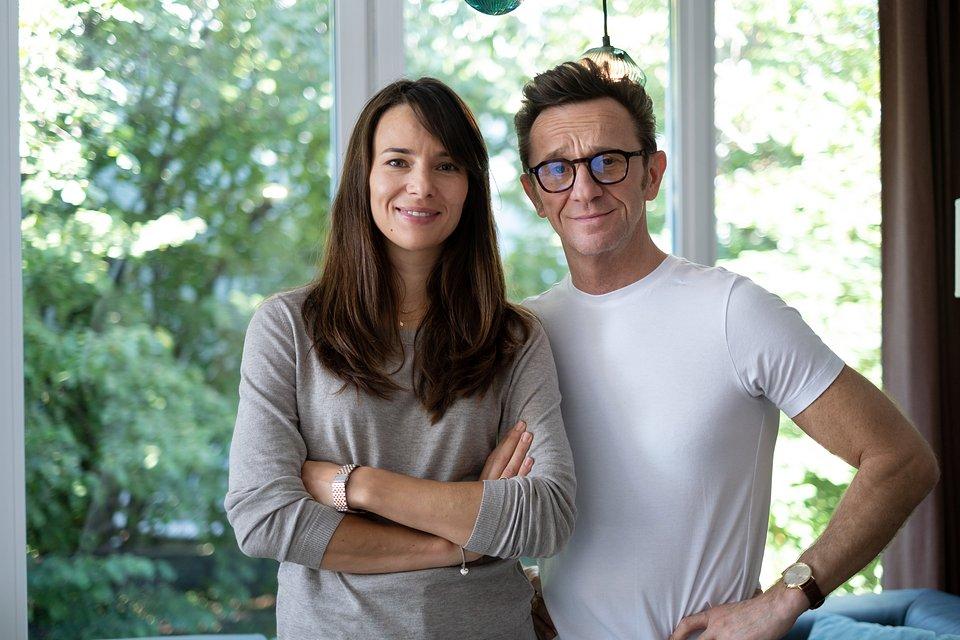 Anna Czartoryska-Niemczycka (Magda) i Paweł Wilczak (Adam)