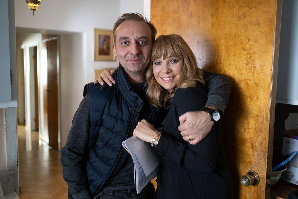 Wojciech Mecwaldowski (Piotrek) i Sonia Bohosiewicz (Iza)